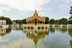 Palacio Tailandia de Bangpain Imágenes de archivo libres de regalías