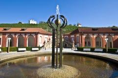Palacio Troja Fotografía de archivo libre de regalías