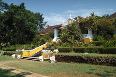 Palacio tun Deao, Goa Stockfotos