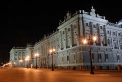 Palacio verdadero en Madrid fotos de archivo