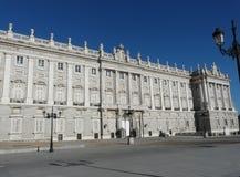 Palacio verdadero en Madrid, España Fotografía de archivo libre de regalías