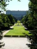 Palacio verdadero en Madrid, España Imagen de archivo libre de regalías