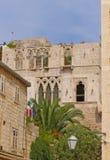 Palacio viejo Imágenes de archivo libres de regalías