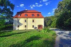 Palacio viejo del renacimiento Fotos de archivo