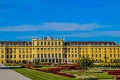 Palacio Viena Austria de Schönbrunn imagen de archivo