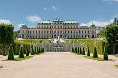 Palacio Viena del belvedere Fotografía de archivo libre de regalías