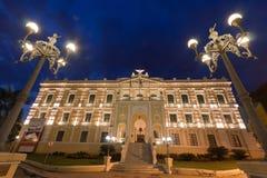 Palacio Vitoria de Anchieta Imágenes de archivo libres de regalías