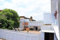 Palacio y argumentos la India de Kota fotografía de archivo