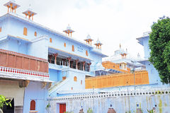 Palacio y argumentos la India de Kota imágenes de archivo libres de regalías