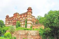 Palacio y argumentos la India de Kota Foto de archivo