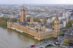 Palacio y Big Ben, Londres, Reino Unido de Westminster imagen de archivo libre de regalías