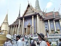 Palacio y Emerald Buddha magníficos reales Fotografía de archivo libre de regalías