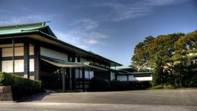Palacio y jardín de Imperior imagen de archivo libre de regalías