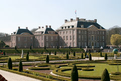 'palacio y jardín del retrete de t Imagen de archivo