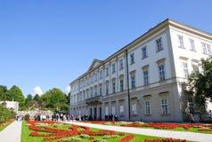 Palacio y jardín - Salzburg, Austria de Mirabell Imagen de archivo libre de regalías