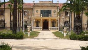 Palacio y jardines metrajes