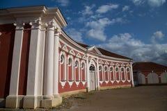 Palacio y museo de Rundale imagen de archivo libre de regalías
