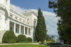 Palacio y parque, Crimea de Livadia Foto de archivo