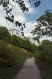 Palacio y parque, Crimea de Livadia Imagenes de archivo