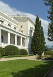 Palacio y parque, Crimea de Livadia Imágenes de archivo libres de regalías