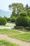 Palacio y parque, Crimea de Livadia Foto de archivo libre de regalías