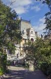 Palacio y parque, Crimea de Massandra Imagenes de archivo