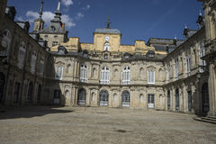 Palaciode La Granja DE San Ildefonso in Madrid, Spanje Beautifu Royalty-vrije Stock Fotografie