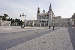 Palacioen verklig de Madrid (Royal Palace) Royaltyfria Bilder