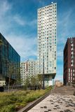Palacios modernos en Rotterdam Fotos de archivo