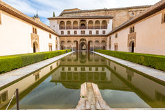 Palacios Nazaries Granada obrazy royalty free