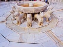 Palacios Nazaries in Granada, Spain Royalty Free Stock Photography