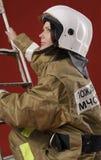 palacza dziewczyny mundur na piętrze Zdjęcia Royalty Free