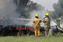 Palacze target390_1_ ogień domu ogienia zdjęcie stock