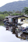 Palafitas slum Stock Photos