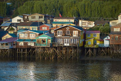 Palafitos of Chiloé Royalty Free Stock Photography