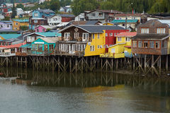 Palafitos of Chiloe Royalty Free Stock Images