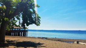 Palafittes στη λίμνη Στοκ εικόνα με δικαίωμα ελεύθερης χρήσης