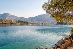Palaia Epidaurus coast, Argolis, Greece Royalty Free Stock Images