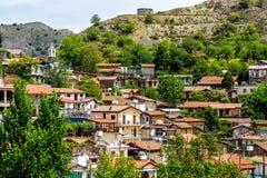 Palaichori wioska Nikozja okręg, cibora Zdjęcie Royalty Free