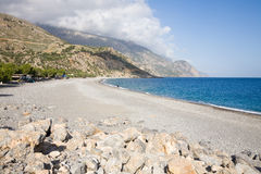 Sougia beach Stock Photography