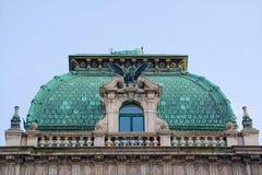 Palais上面公平在维也纳 库存照片