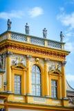 Palais à Varsovie Wilanow Image stock