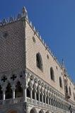 Palais à Venise carrée du repère de rue Photographie stock libre de droits