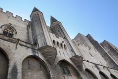 palais Αβινιόν des Γαλλία papes Στοκ Εικόνες