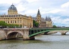 palais Παρίσι de justice Στοκ Εικόνα