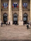 palais Παρίσι de justice Στοκ φωτογραφίες με δικαίωμα ελεύθερης χρήσης