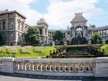 Palais (宫殿) Longchamp外部看法  库存图片