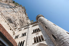 Palais Abbatial of Rocamadour Royalty Free Stock Photos