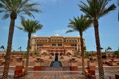 Palais Abu Dhabi d'émirats Images libres de droits