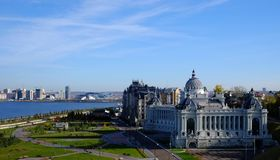 Palais agricole, Kazan Kremlin, Kazan Russie Photo stock